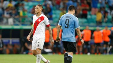 Suarez's penalty miss proved decisive for Uruguay in their defeat by Peru