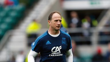 Mike Catt will swap his coaching role at Italy for one with Ireland after the World Cup