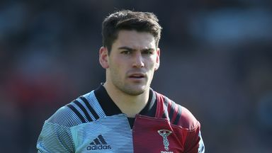 Sam Hidalgo-Clyne has been on loan at Gallagher Premiership outfit Harlequins since March.