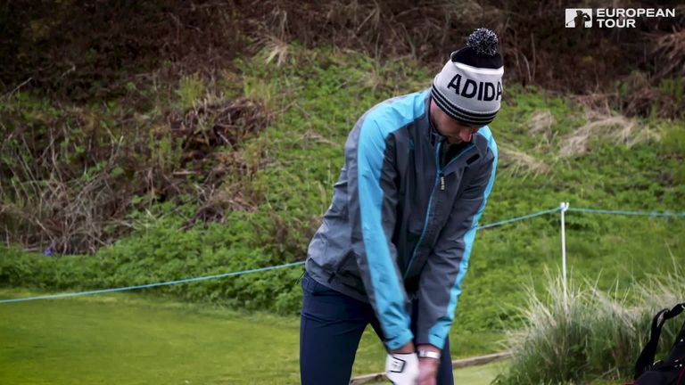 Cricketers James Anderson and Stuart Broad go head-to-head in golf's 14-Club Challenge. Who claimed bragging rights?