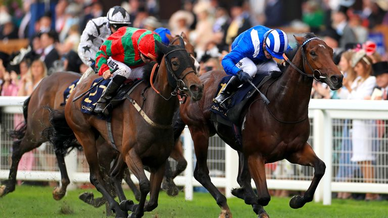 Afaak edges out Clon Coulis to win the Royal Hunt Cup