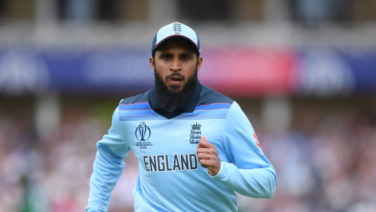 Adil Rashid took three wickets without finding his best form