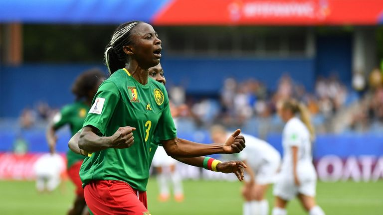 Ajara Nchout has been on fine form for Cameroon
