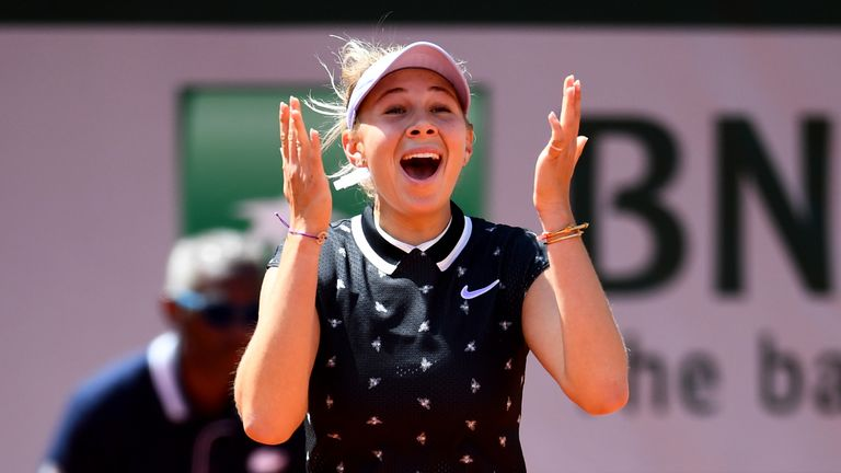 Anisimova reached a career-high ranking of No 21 in the world. She is currently No 28