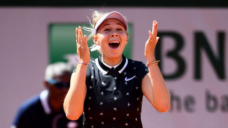 Anisimova was a breath of fresh air in Paris