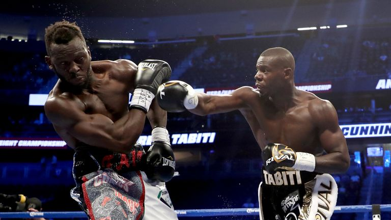 Andrew Tabiti has racked up 17 straight wins in the pro ranks, 13 by knockout