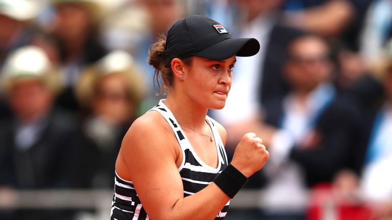 Barty handled the occasion on Court Philippe-Chatrier to win a first Grand Slam