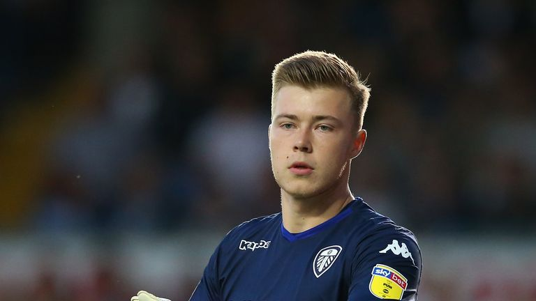 Bailey Peacock-Farrell has signed for Burnley