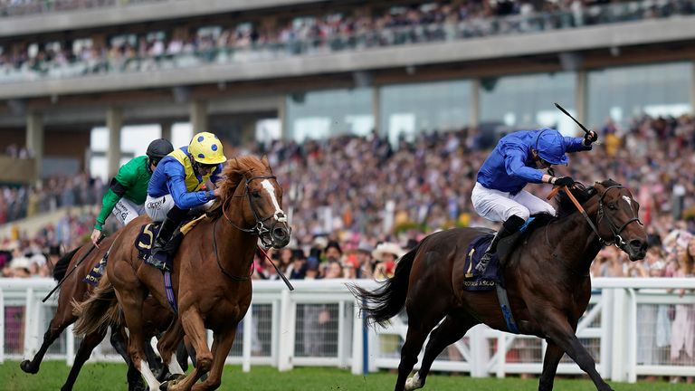 Blue Point wins the Diamond Jubilee Stakes at Royal Ascot