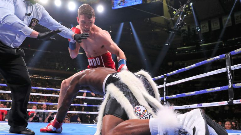Smith demolished Hassan N'Dam inside three rounds in New York