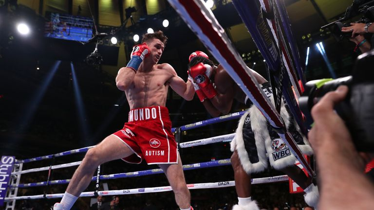 Smith found his range in the first round at Madison Square Garden