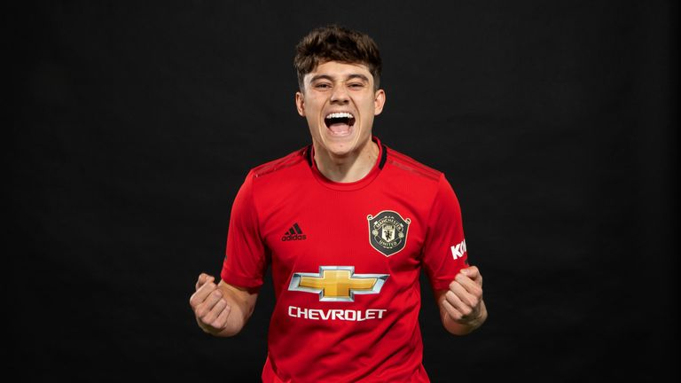 James becomes Manchester United's first signing of the summer