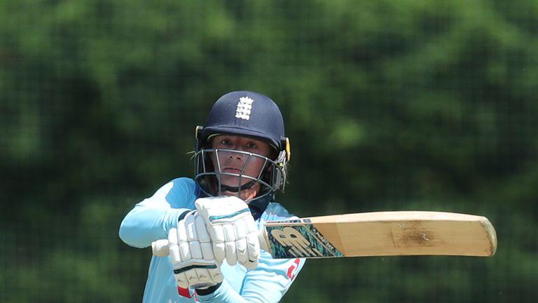 Wyatt scored a brisk 93 in England's Ashes warm-up on Saturday