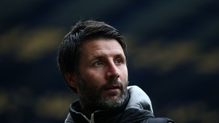 Danny Cowley is the new Huddersfield Town manager