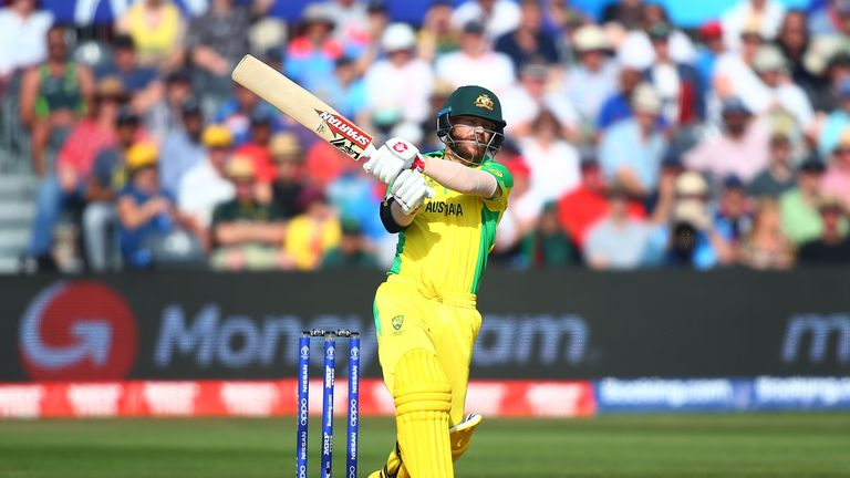 David Warner was named Man of the Match in Australia's opening match against Afghanistan