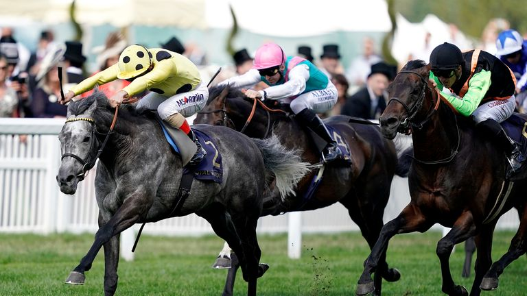 Defoe wins the Hardwicke Stakes at Royal Ascot