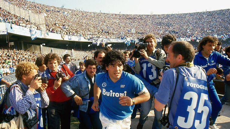Diego Maradona's time at Napoli was extraordinary [Credit: Alfredo Capozzi]