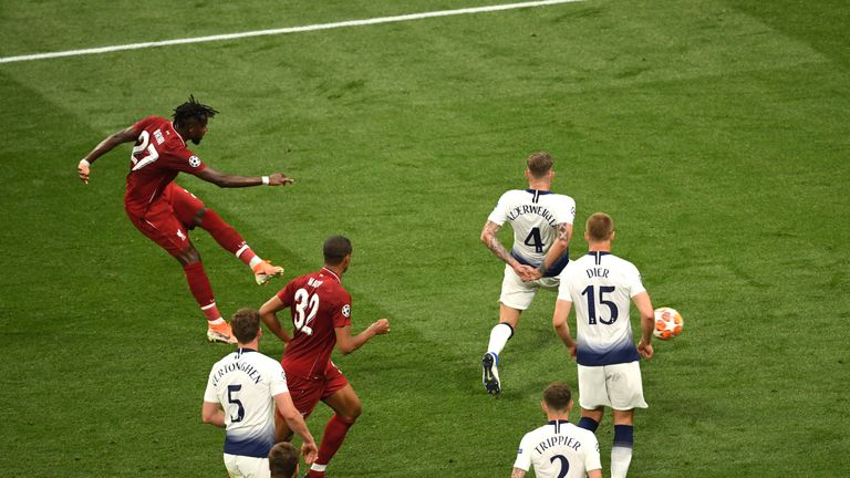 Divock Origi doubles Liverpool's lead to secure the Champions League