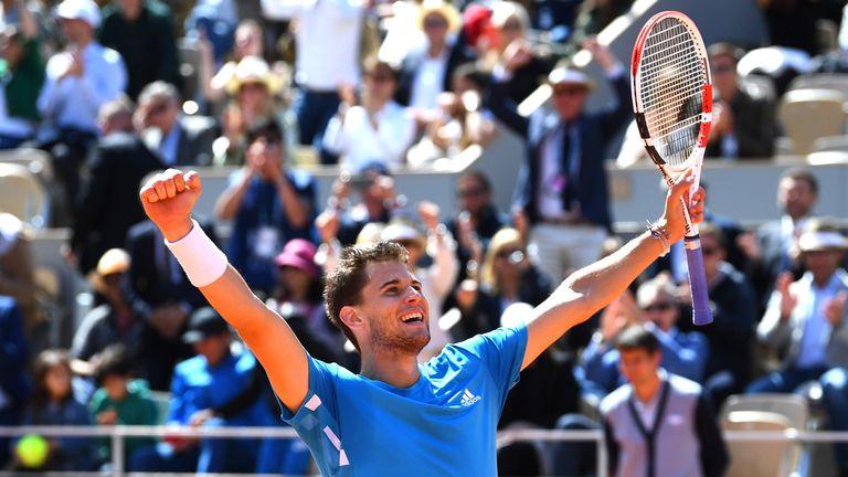 The Austrian ended Novak Djokovic's Grand Slam winning streak in the semi-finals at Roland Garros