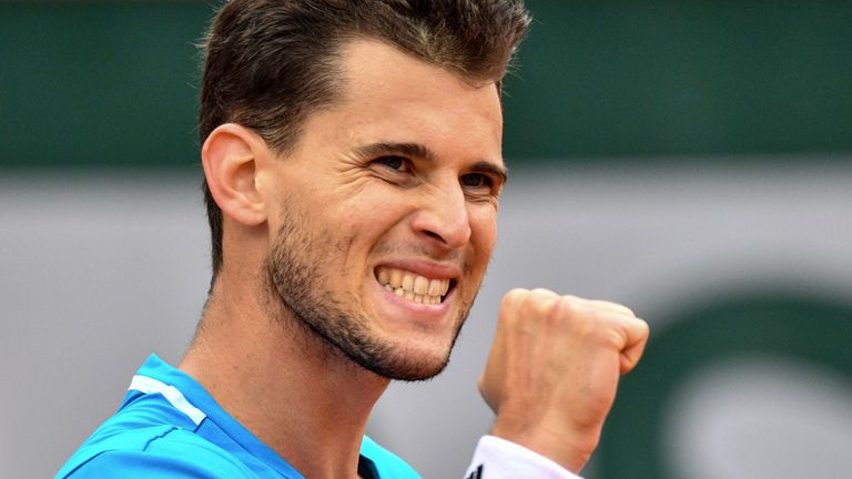 Dominic Thiem is edging closer to a home title in Kitzbühel