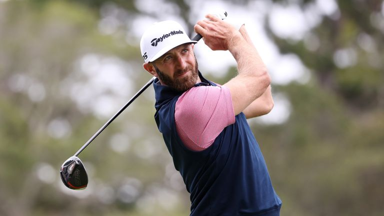Dustin Johnson is the highest-ranked player in action in Detroit