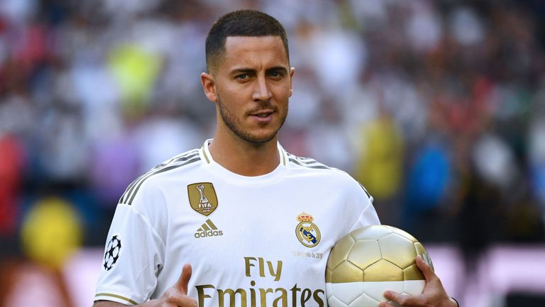 Eden Hazard cost Real Madrid £130m