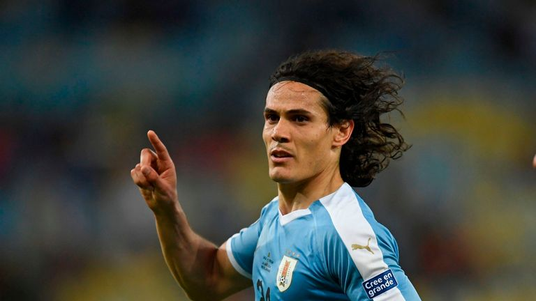 Edinson Cavani has reportedly agreed to join David Beckham's MLS franchise Inter Miami
