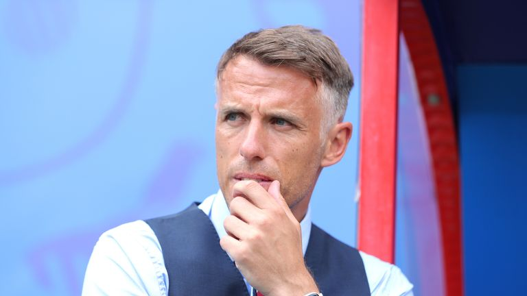 Phil Neville targets Euro 2021 success with England Women