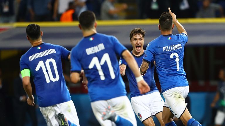 Euro 2019 highlights: Italy U21s hit back to beat Spain, Poland surprise Belgium