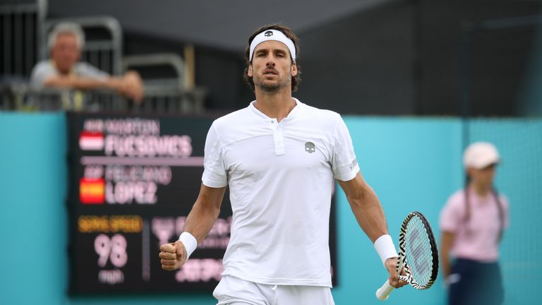Feliciano Lopez will team up with Andy Murray for doubles action at Queen's Club