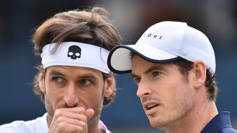 Feliciano Lopez and Andy Murray maintained their 100 per cent record together