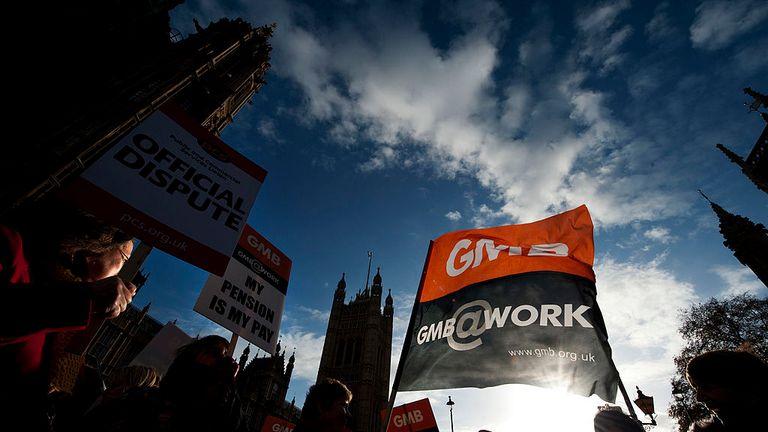 The GMB union represents Brighton's ground staff