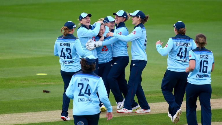 Fran WIlson pulled off a wondercatch in the final ODI against the West Indies