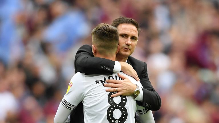 Lampard nurtured Mason Mount at Derby