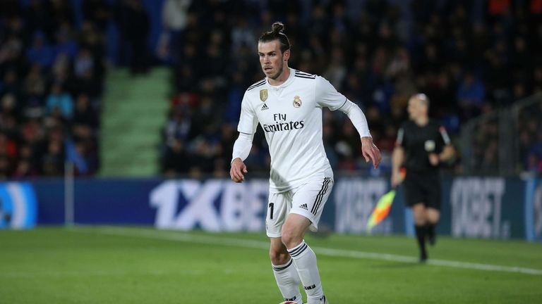 Bale is contracted at Real Madrid until 2022