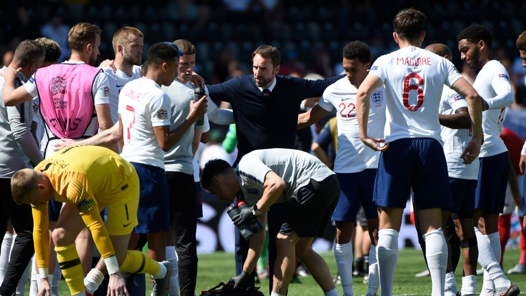 England have a 100 per cent record so far in qualifying