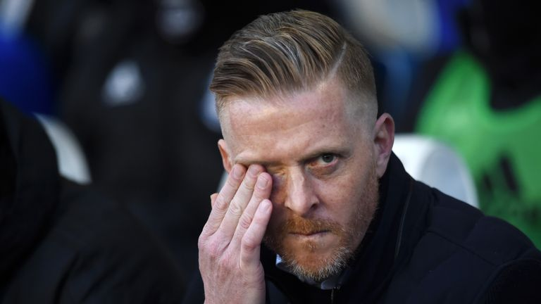 Garry Monk was operating under a transfer embargo at Birmingham