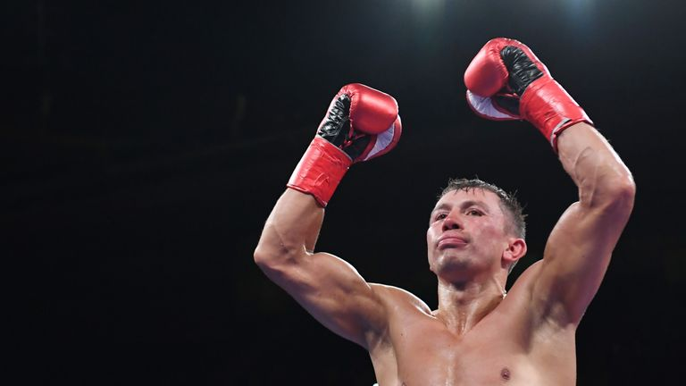 Gennady Golovkin knocks out Steve Rolls in fourth round on return to ring | Boxing News |