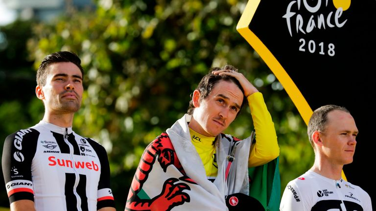Geraint Thomas is hoping to compete in the elite time trial and elite men's race in Yorkshire