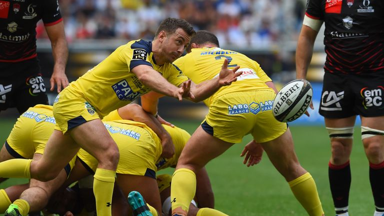 Greig Laidlaw played a starring role in Clermont's Top 14 semi-final win over Lyon