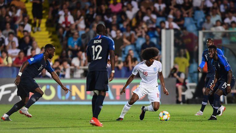 Choudhury has made seven appearances for the England U21 side