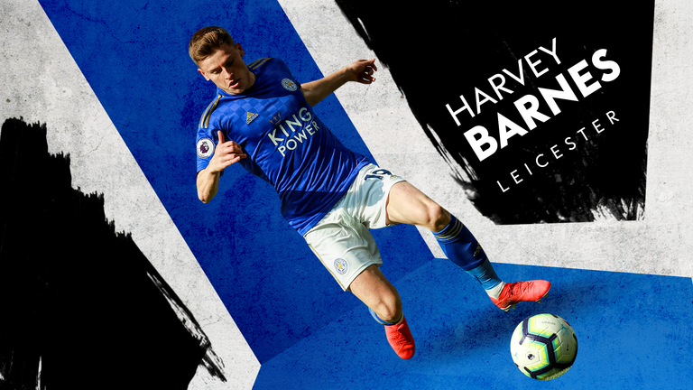 Harvey Barnes is a huge prospect for Leicester and also for England