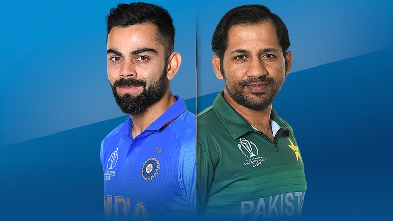 Virat Kohli and Sarfaraz Ahmed meet in England for the first time since Pakistan won the Champions Trophy in 2017
