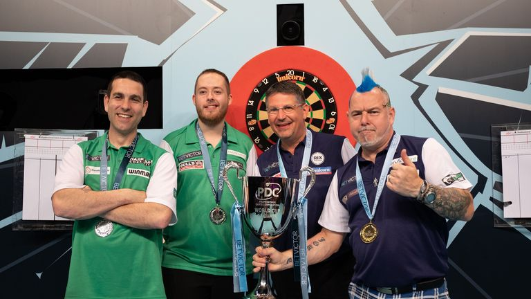 Ireland were edged by Scotland pair Gary Anderson and Peter Wright in the final