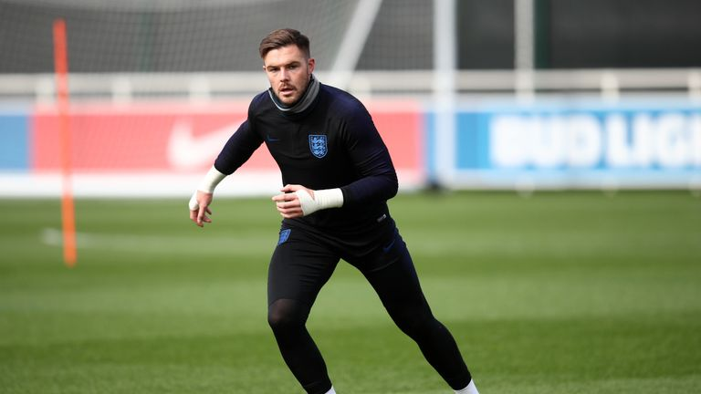 Jack Butland wants to regain his England place