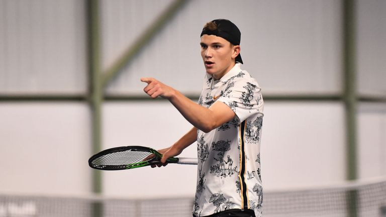 Jack Draper was named as a wild card for Wimbledon qualifying