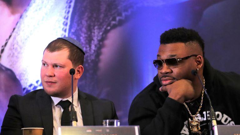 Dmitriy Salita has guided the career of Jarrell Miller