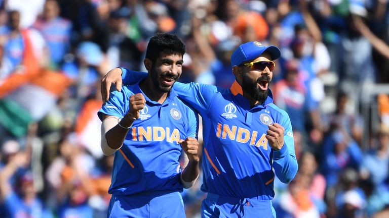 Virat Kohli has guided his star-studded India side to top spot in the group stage and a World Cup semi-final