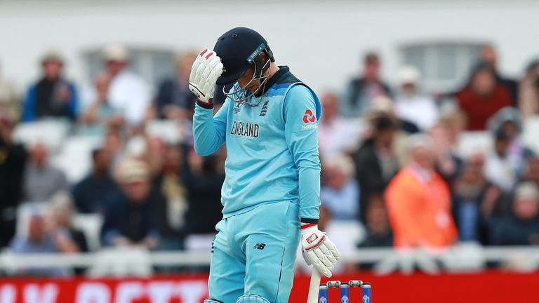 Joe Root's dismissal was a crucial moment in the match at Trent Bridge