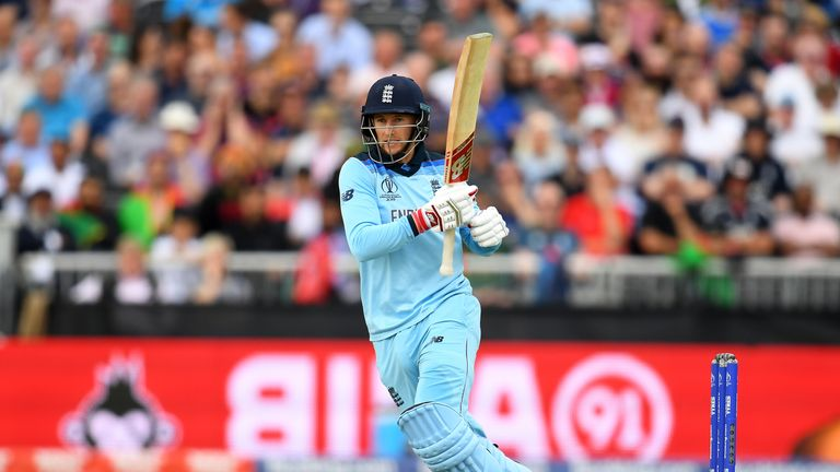 Morgan, England break six-hitting records, Rashid bears the brunt